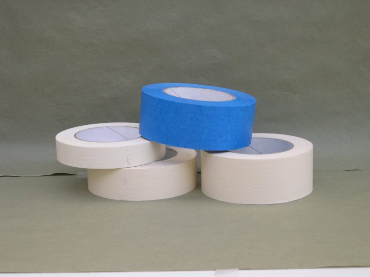1'' Blue Masking tape - Click Image to Close