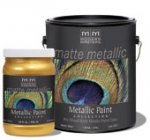 Metalic water born paints